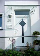 Haustür in Kunststoff Muster1
