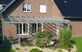 Terrassenüberdachungen hellgraues Profil